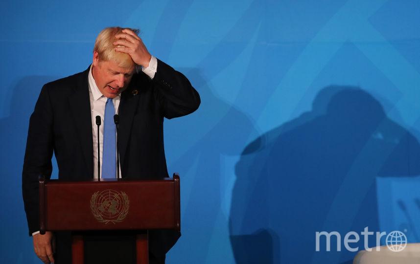 Борис Джонсон. Фото AFP