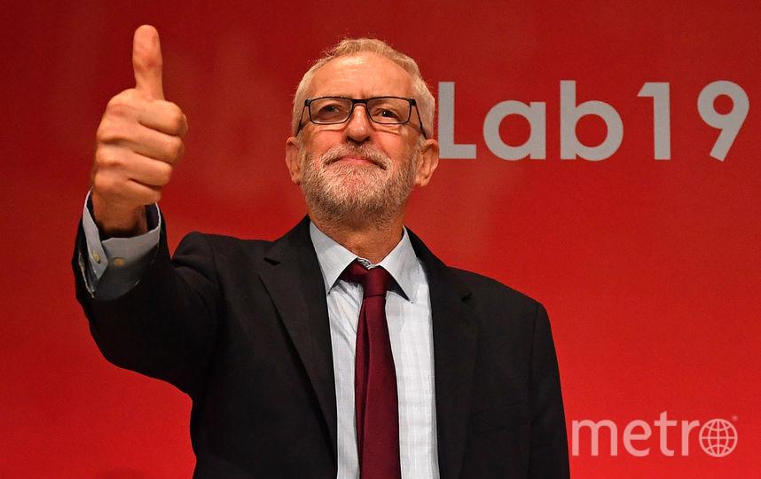 Лидер Лейбористской партии Джереми Корбин. Фото AFP