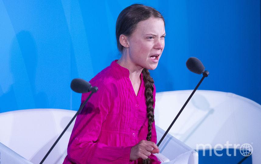 Грета Тунберг. Фото AFP