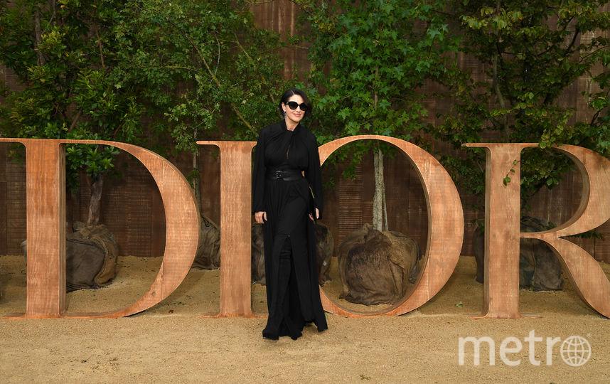 Моника Беллуччи на Неделе моды в Париже. Фото Getty