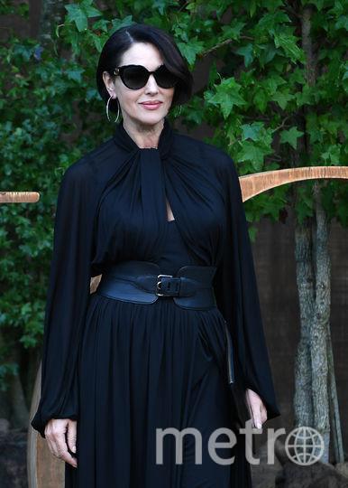 Моника Беллуччи на Неделе моды в Париже. Фото AFP