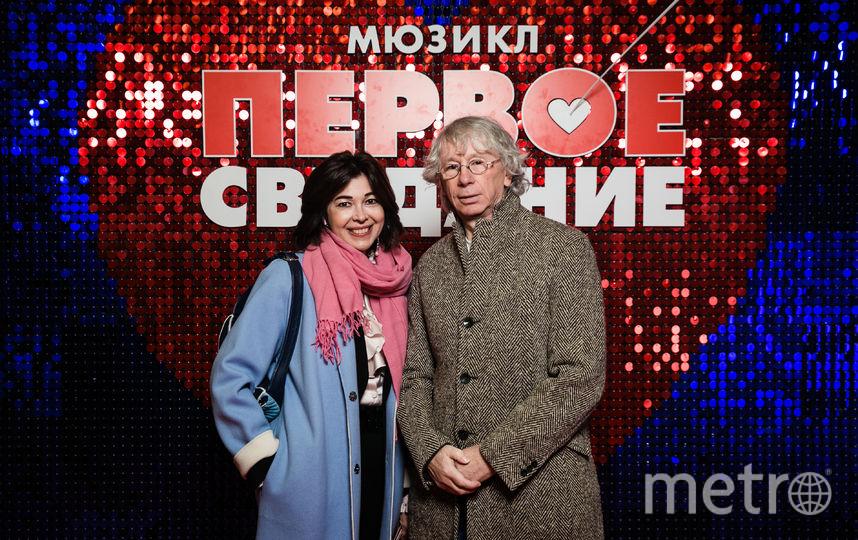 """Аркадий Укупник с супругой. Фото пресс-служба театра., """"Metro"""""""