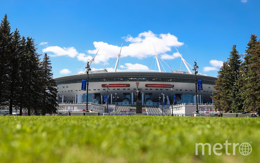 Сталион на Крестовском острове примет финал Лиги чемпионов. Фото Getty