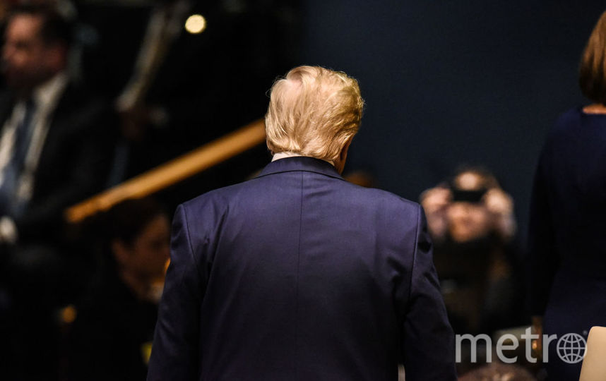Дональд Трамп на Генассамблее ООН. Фото Getty