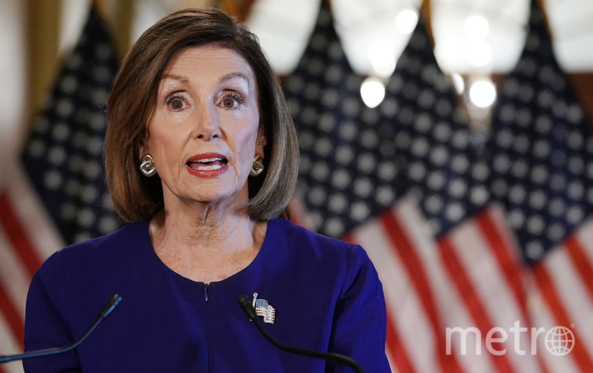 Спикер палаты представителей парламента США Нэнси Пелоси. Фото Getty