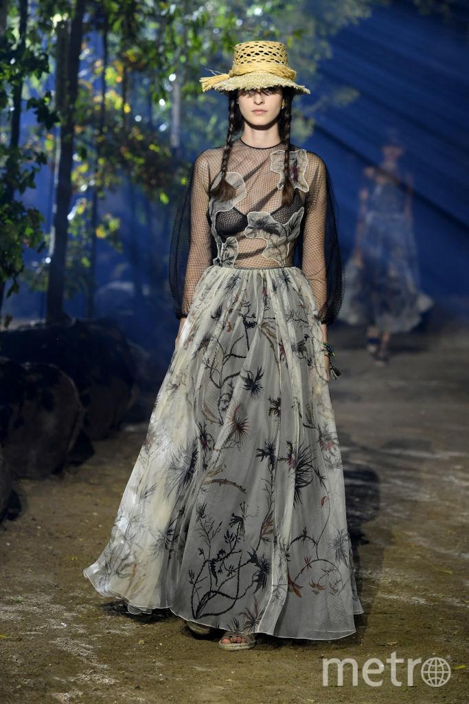 Показ Dior на Неделе моды в Париже. Фото Getty