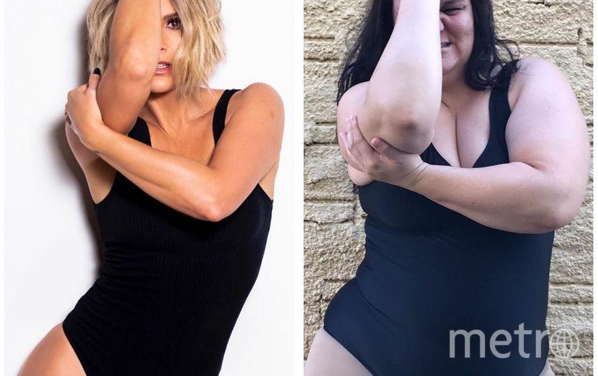 Домохозяйка из Бразилии Рената Нея – активная пользовательница Instagram. В своём блоге она оригинальным образом показывает, что женщинам не стоит комплексовать по поводу фигуры. Фото https://www.instagram.com/renata_neia/