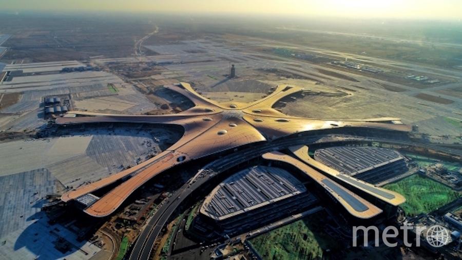 Аэропорт Дасин в Пекине. Фото РИА Новости