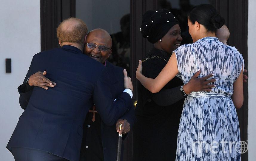 На встрече с архиепископом. Фото Getty