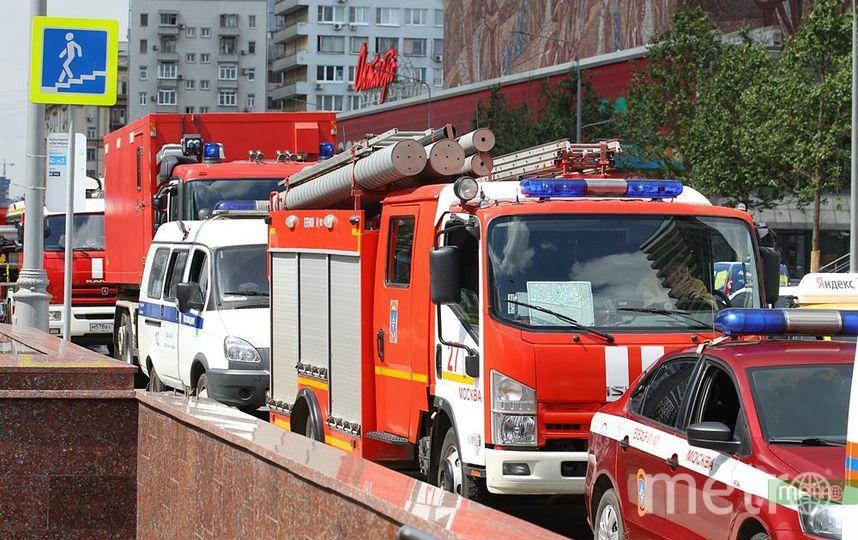 Пожар ликвидирован. Фото Василий Кузьмичёнок