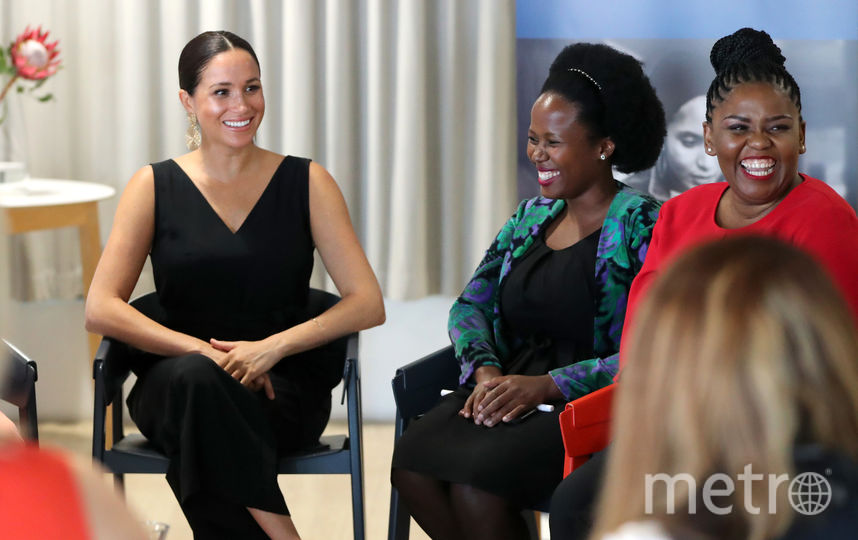 Меган Маркл провела встречу с женщинами-предпринимателями. Фото Getty