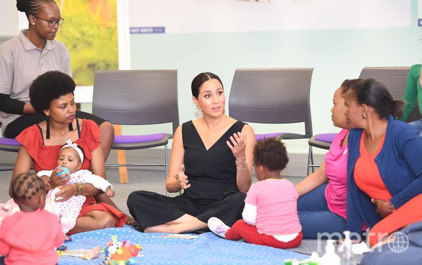 Меган Маркл посетила организацию, которая поддерживает ВИЧ-положительных мам. Фото Getty