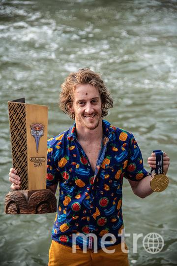 Хант – восьмикратный победитель мировой серии Red Bull Cliff Diving. Фото redbullcontentpool.com