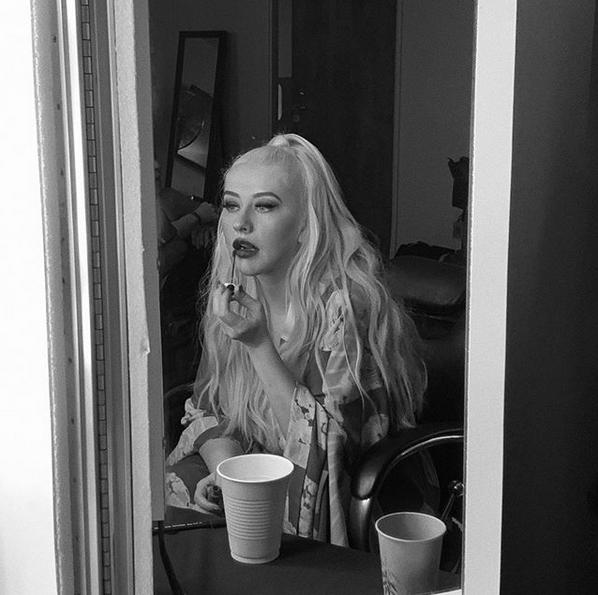 Кристина Агилера. Фото скриншот: instagram.com/xtina/