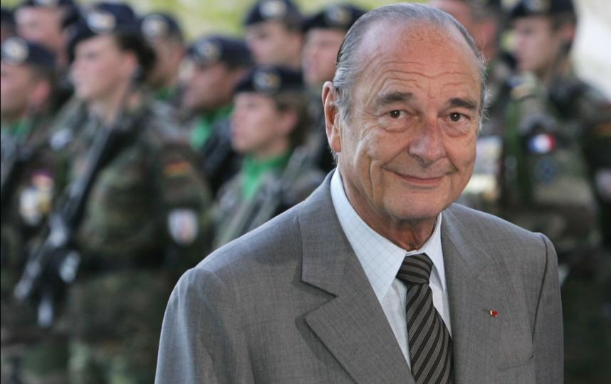 Жак Ширак в 2007-м году. Фото Getty