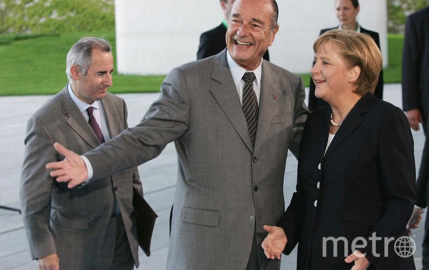 С Ангелой Меркель 207-м году. Фото Getty