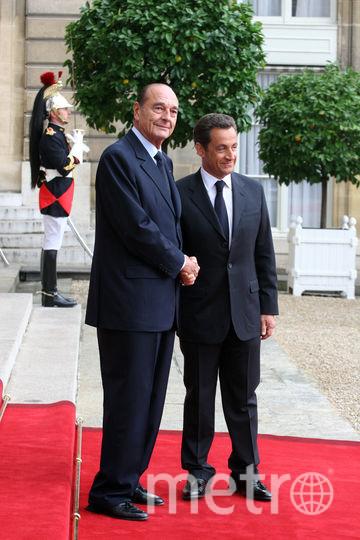 С Николя Саркози в 207-м году. Фото Getty