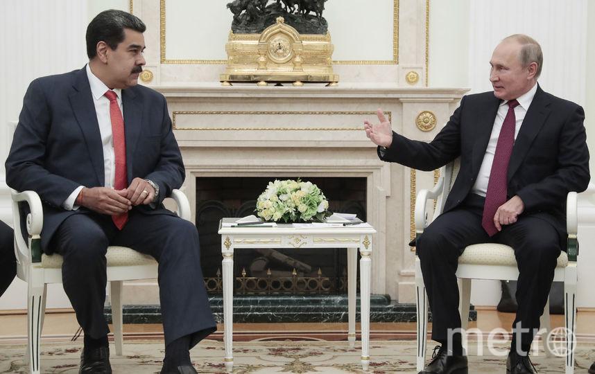 Николас Мадуро и Владимир Путин. Фото AFP