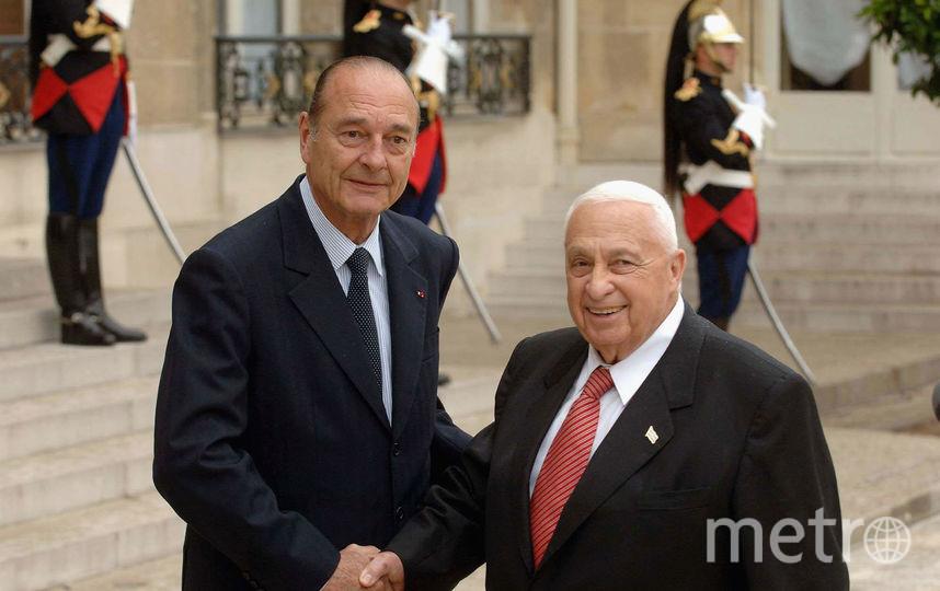 Жак Ширак и Ариэль Шарон в 2005-м году. Фото Getty