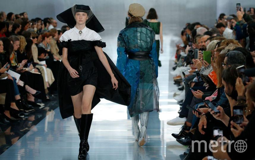 Показ коллекции Maison Margiela на Неделе моды в Париже. Фото Getty