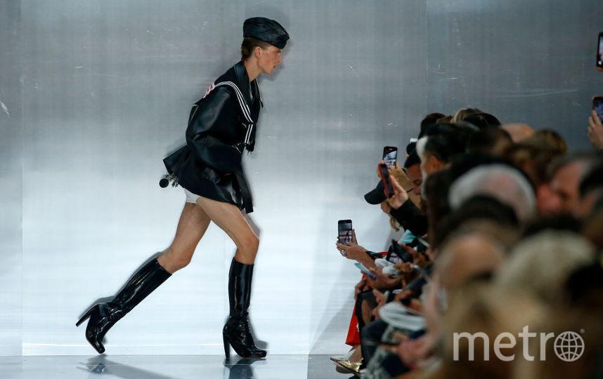 Леон Дам. Показ коллекции Maison Margiela на Неделе моды в Париже. Фото Getty