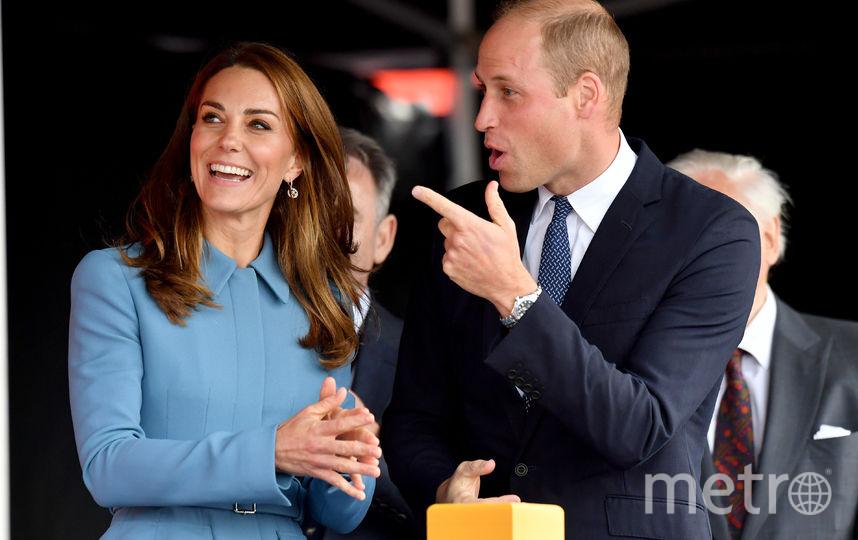 Принц Уильям и Кейт Миддлтон посетили торжественную церемонию спуска на воду исследовательского корабля. Фото Getty