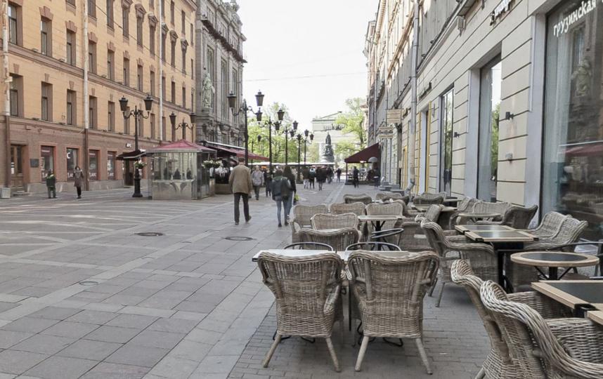 Малая Садовая улица. Фото скриншот Яндекс.Панорамы
