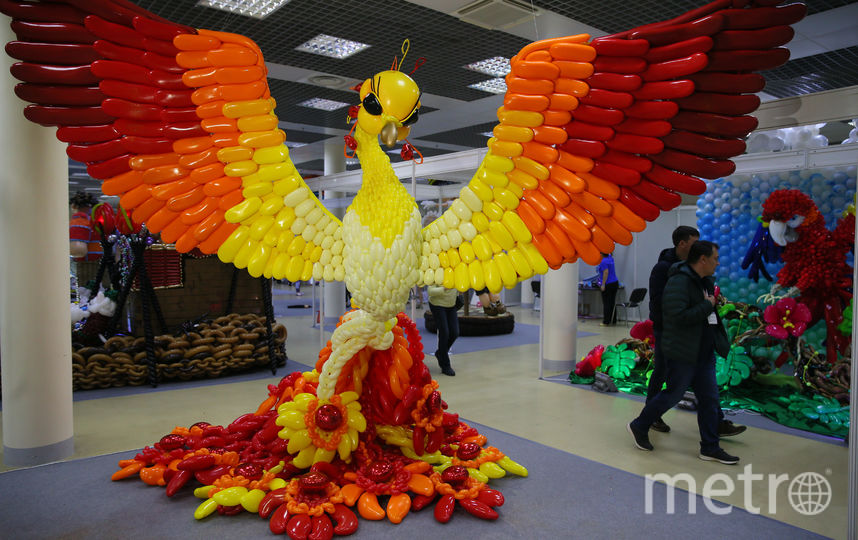 На Красной Пресне проходит XX Московский международный фестиваль воздушных шаров. Фото Василий Кузьмичёнок