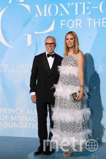 Томми Хилфигер с женой. Фото AFP
