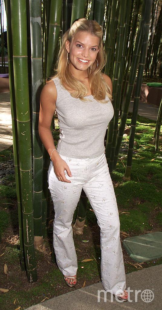 Джессика Симпсон. 2000 год. Фото архив, Getty