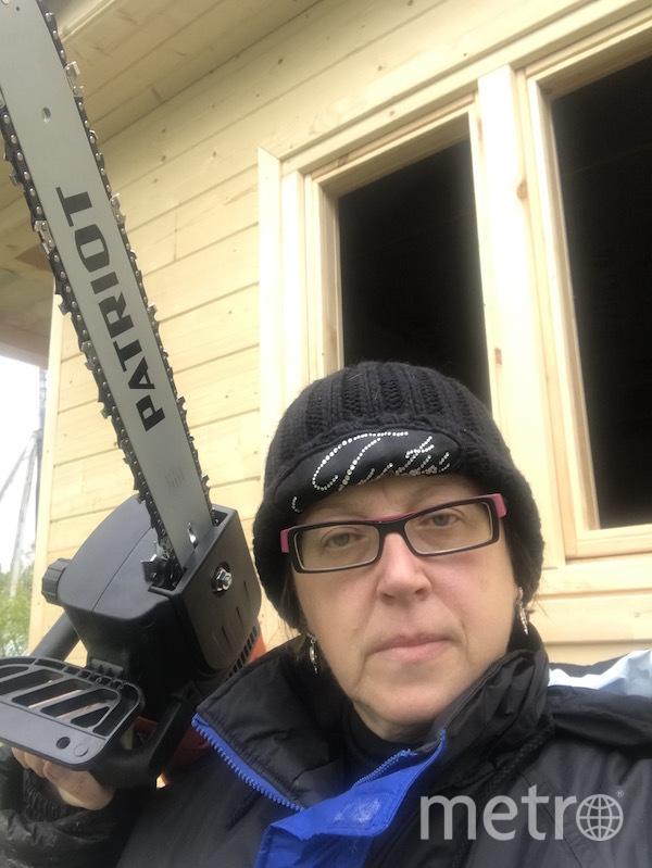 """Я тебе не бабушка, я – лесоруб и строитель бань"". Фото Светлана Кугушева (57 лет), ""Metro"""