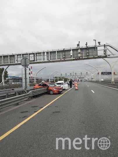 """Фото с места аварии. Фото предоставлено пресс-службой ГИБДД, """"Metro"""""""
