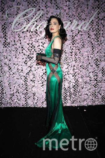 Дита фон Тиз сейчас, 2019. Фото Getty