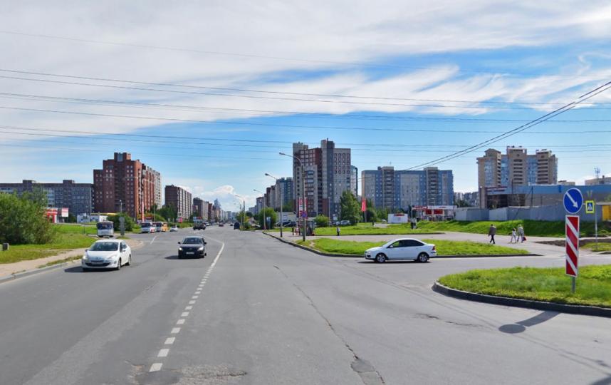 Комендантский проспект. Фото Яндекс.Панорамы