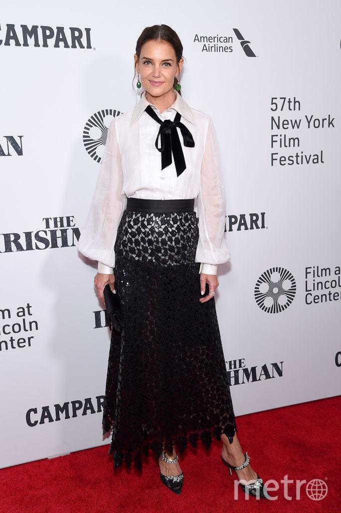 Кэти Холмс на кинофестивале в Нью-Йорке. Фото Getty