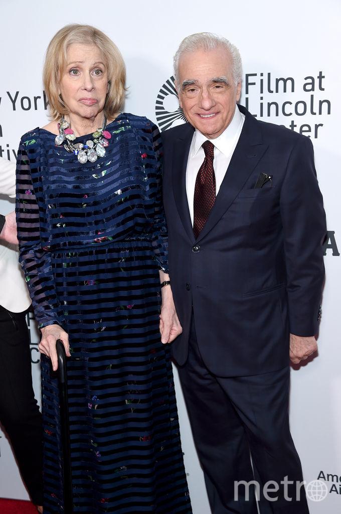 Хелен Моррис и Мартин Скорсезе. Фото Getty