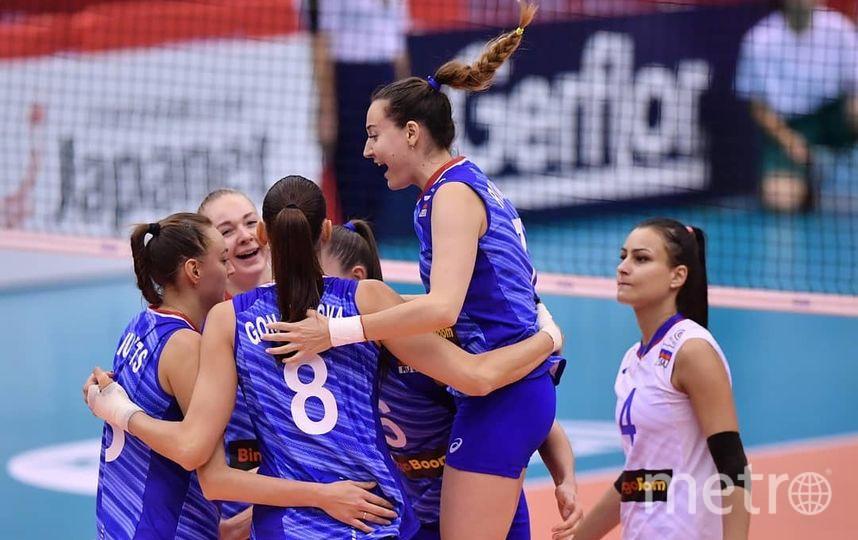 Женская сборная России стала третьей на Кубке мира. Фото Скриншот @rusvolleyteam
