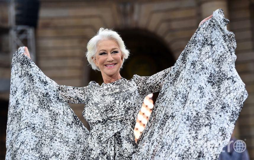 Британская актриса Хелен Миррен. Фото AFP