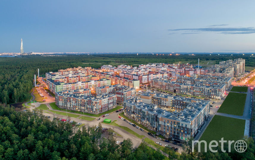 """Недвижимость всегда в цене, поэтому «распродажных скидок» на неё не бывает даже в кризисы. Фото Главстрой Санкт-Петербург, """"Metro"""""""