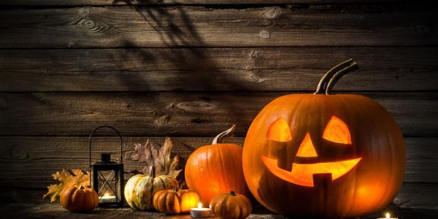 30 октября перевоплощаемся в монстров.