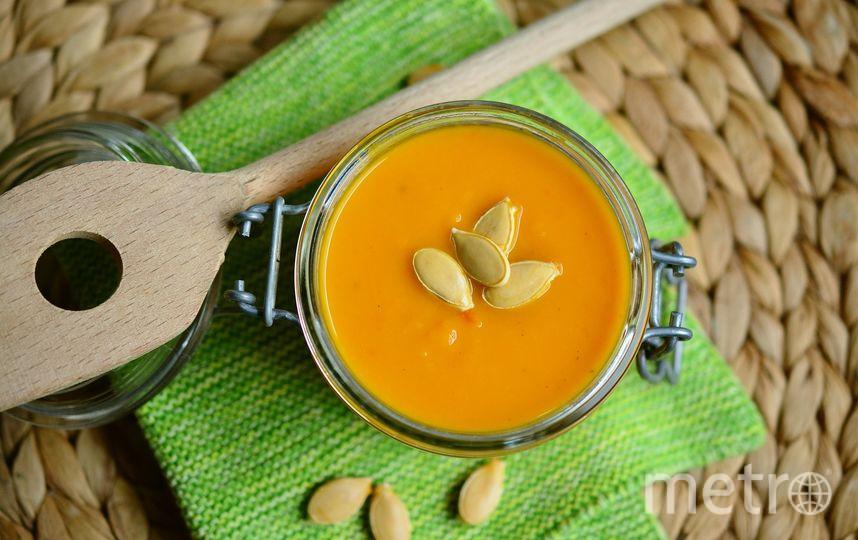 """Готовим """"осенние"""" блюда. Например, тыквенный суп. Фото pixabay"""