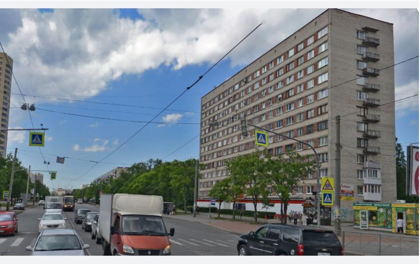Трагедия произошла на проспекте Науки. Фото Яндекс.Панорамы