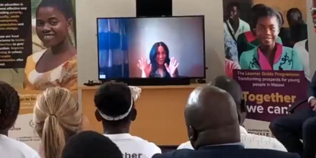 Кадры видео из школы в Малави.