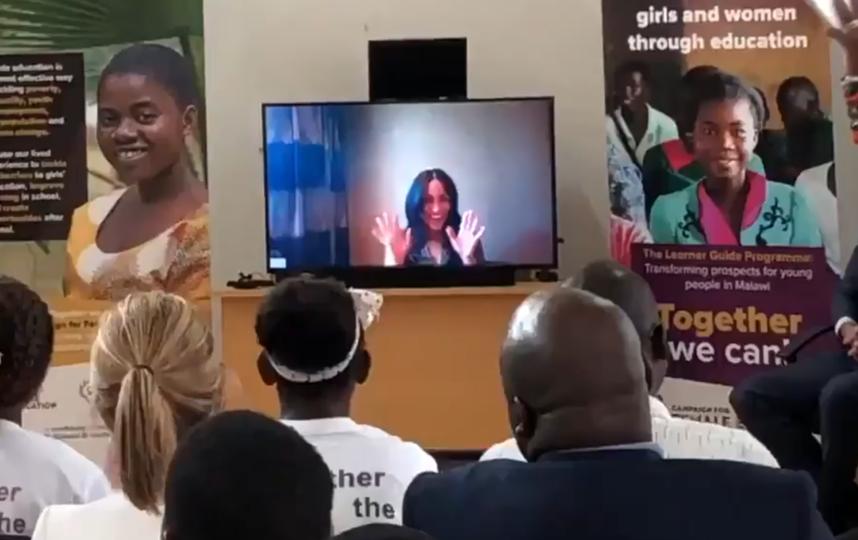 Кадры видео из школы в Малави. Фото Скриншот Youtube
