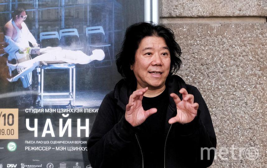 "Режиссер Мэн Цзинхуэй. Фото Алена Бобрович, ""Metro"""