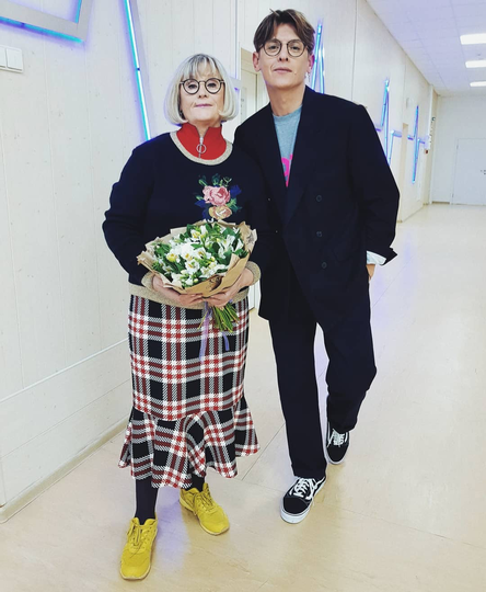Влад Лисовец и его мама Татьяна. Фото  instagram vladislavlisovets
