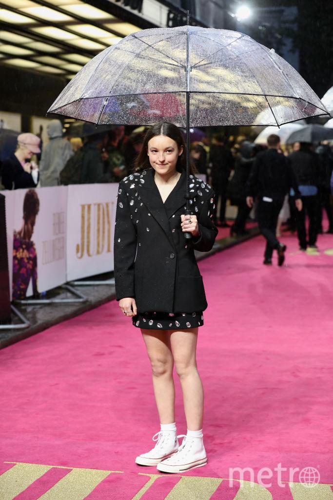Преьмера фильма Джуди в Лондоне. Белла Рэмси. Фото Getty