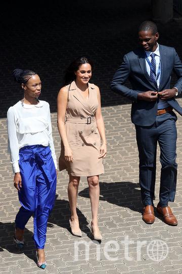 Меган Маркл в Йоханнесбурге. Фото Getty