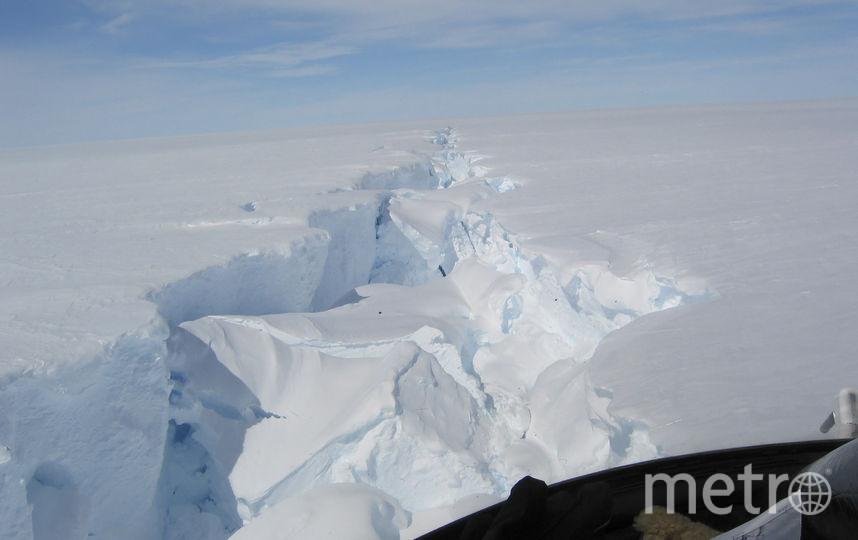 В Восточной Антарктиде от ледника Эймери откололся айсберг весом в 315 млрд тонн. Фото AFP
