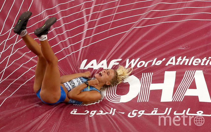 Юлия Левченко в Дохе. Фото Getty